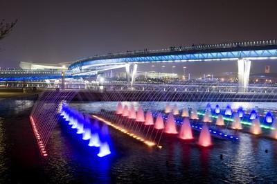 智能照明控制系统在汾河公园夜景项目中的应用